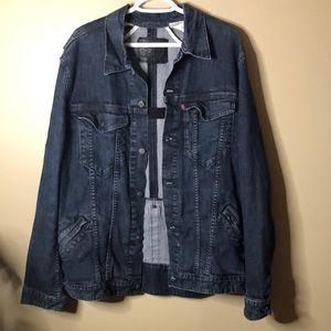 Levi's trucker denied jacket XXL